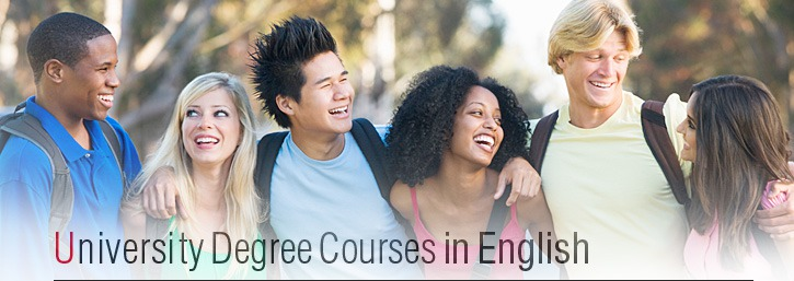 University Degree Courses in English