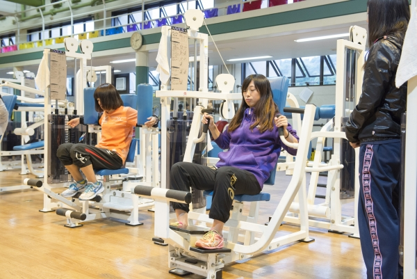 Students in the Sports Culture Program will take part in practical hands-on classes using a variety of actual training equipment. Students also have free access to state-of-the art training machines.