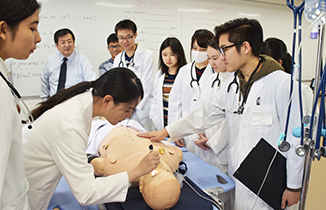 One of the largest simulation centers in the world.